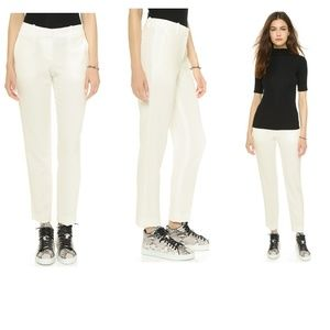 Theory Admiral Testra 2B Pants Off White crepe 2